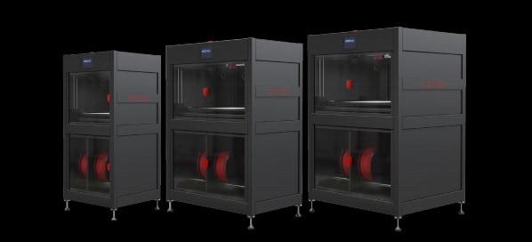 Rapid One impressora 3D industrial vários tamanhos