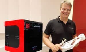 Robert Diretor da dddrop Brasil - Impressora EVO