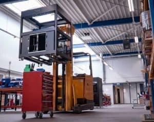 Chão de Fábrica dddrop Holanda fabricante de impressora 3D industriais - Frame Rapid One