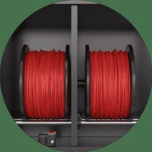 Gabinete de Filamento para Secagem automática - Rapid One Impressora 3D industrial dddrop