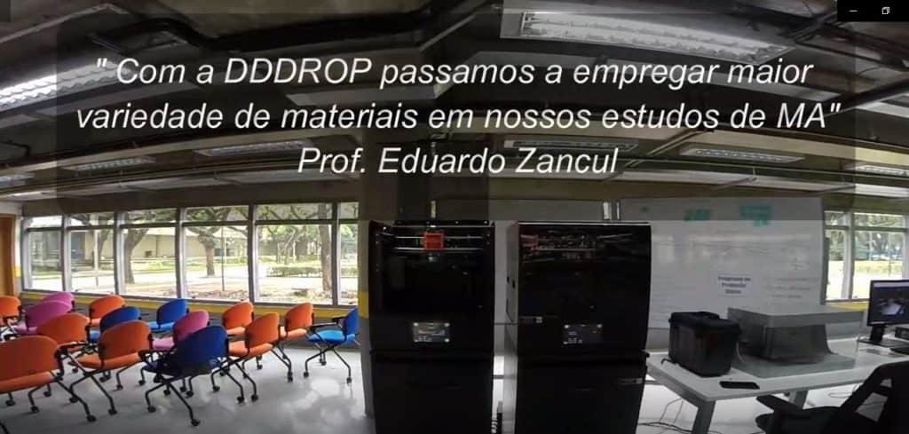 Impressora EVO TWIN nas Fabrica do Futuro POLI USP