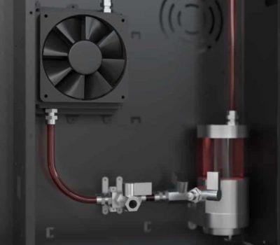 Sistema de Refrigeração à Água da impressora 3D industrial Rapid One dddrop