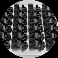 Peças impressão 3D industrial dddrop em Série
